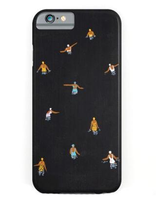 "<p>Helo Birdie Black Swim iPhone 6 Case, $28, <a rel=""nofollow"" href=""https://society6.com/product/black-swim_iphone-case#s6-6642682p20a9v375a52v377""><u>society6.com</u></a>.</p>"