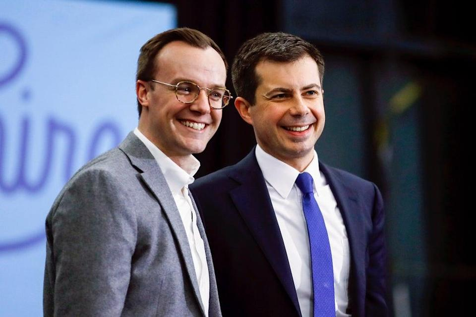Buttigieg (Copyright 2020 The Associated Press. All rights reserved.)