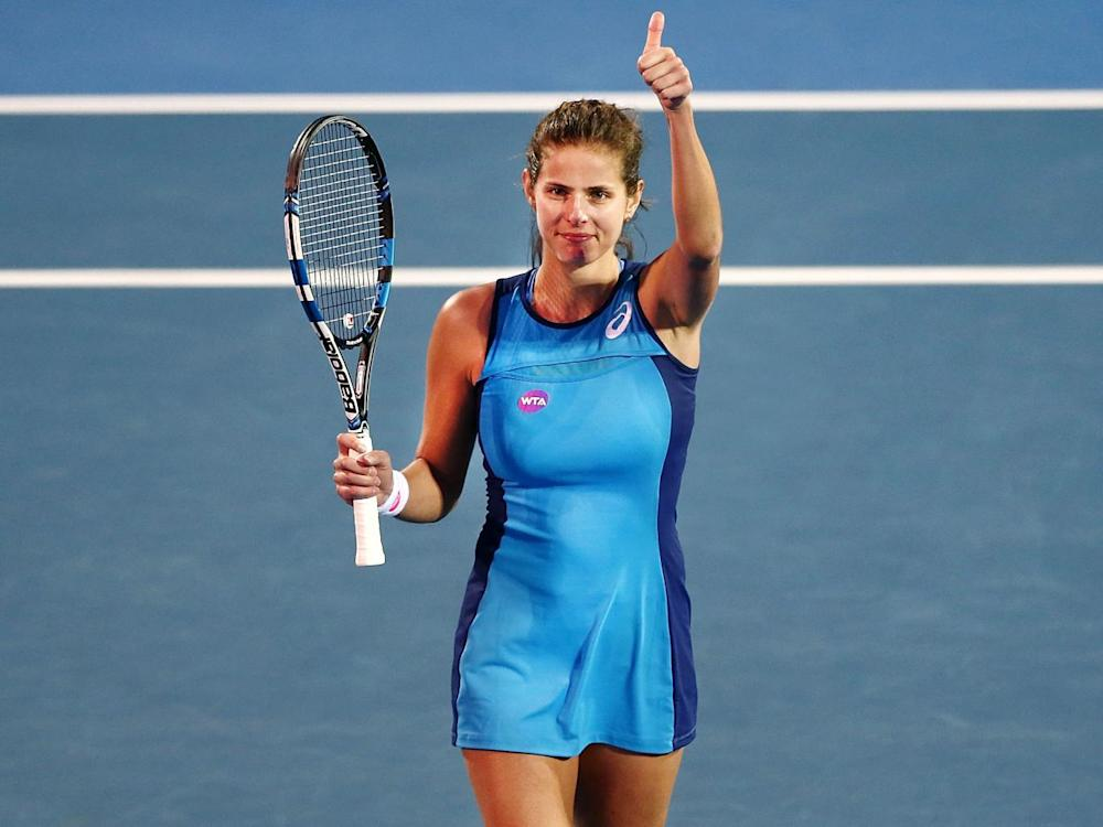 Goerges will now miss out on a place at her home tournament (Getty)