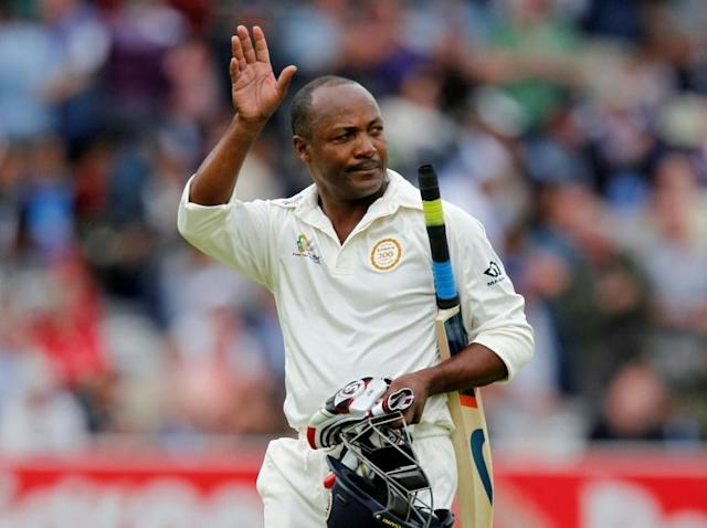 Brian Lara was on the verge of losing his West Indies captaincy when he made 153 against Australia in 1991 (AFP Photo/IAN KINGTON)