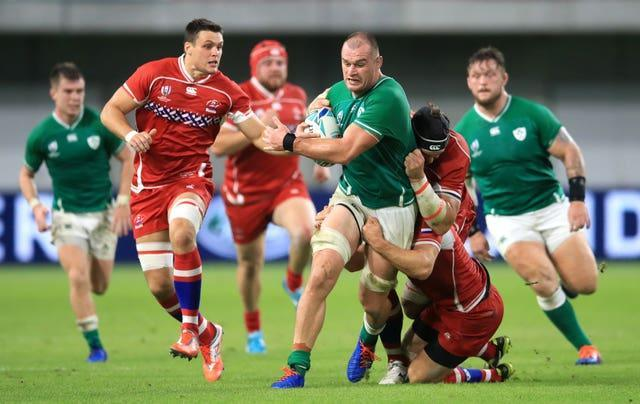 Rhys Ruddock has not played for Ireland since the 2019 World Cup