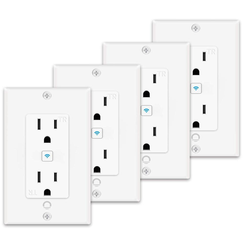 <p>For a more seamless design, the <span>Lumary Smart In-Wall Outlet 4 Pack</span> ($73) is a great investment for turning whole rooms into smart living spaces.</p>