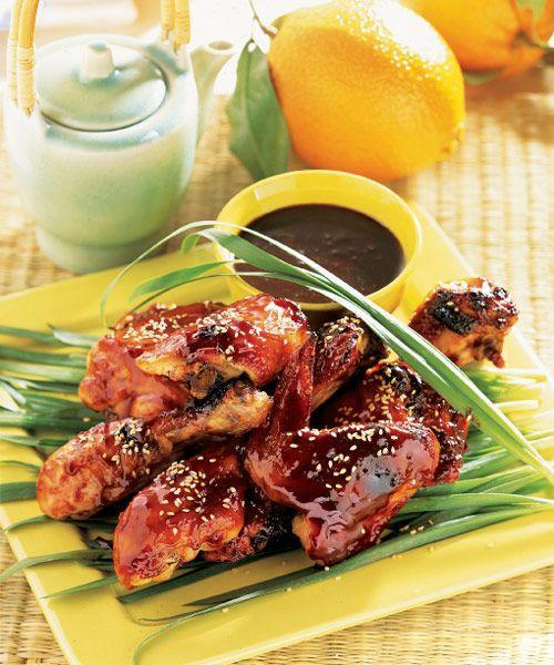 """<p>This recipe couldn't be easier. The best part? You can cook this inside or outside , which means you can have serve this dish no matter where you tailgate.</p><p><a href=""""https://www.goodhousekeeping.com/food-recipes/a5310/chinese-five-spice-grilled-chicken-1896/"""" rel=""""nofollow noopener"""" target=""""_blank"""" data-ylk=""""slk:Get the recipe for Chinese Five-Spice Grilled Chicken »"""" class=""""link rapid-noclick-resp""""><em>Get the recipe for Chinese Five-Spice Grilled Chicken »</em></a></p>"""