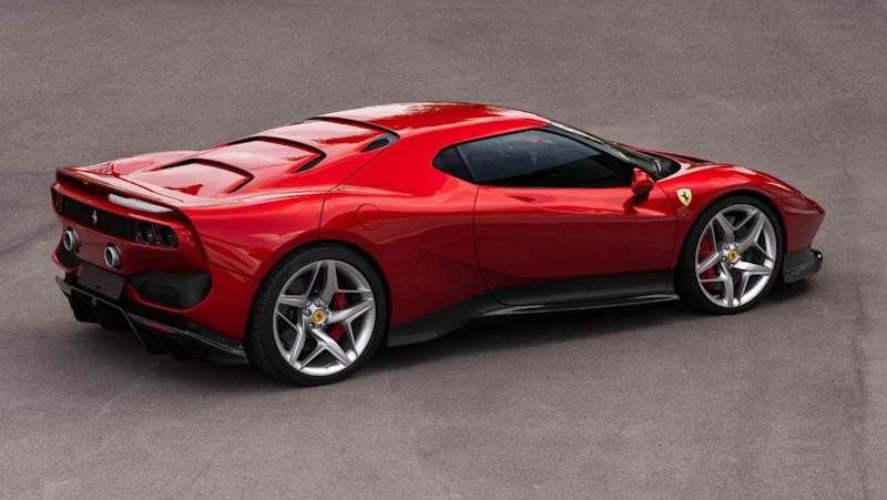 Ferrari SP38 : photos et fiche technique