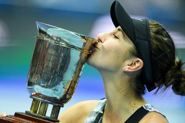 Belinda Bencic climbs to number seven in the WTA rankings after her success at the Kremlin Cup