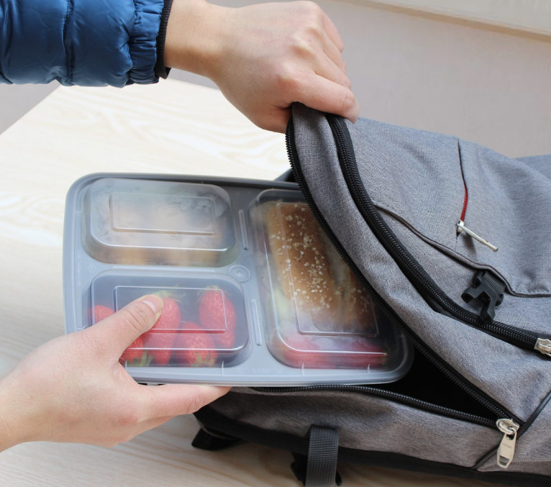 These leak-proof meal prep containers are backpack-friendly. (Photo: Amazon)