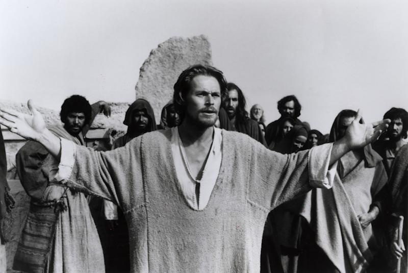"""Willem Dafoe in the movie """"The Last Temptation of Christ."""""""