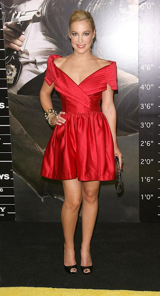 """<a href=""""http://movies.yahoo.com/movie/contributor/1802770996"""">Lindsay Sloane</a> at the New York City premiere of <a href=""""http://movies.yahoo.com/movie/1810116447/info"""">The Other Guys</a> - 08/02/2010"""