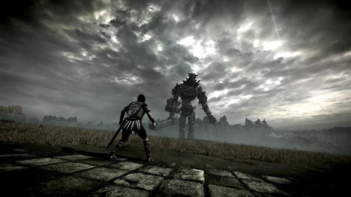 shadow of the colossus remake reiew tall boi desaturate filter