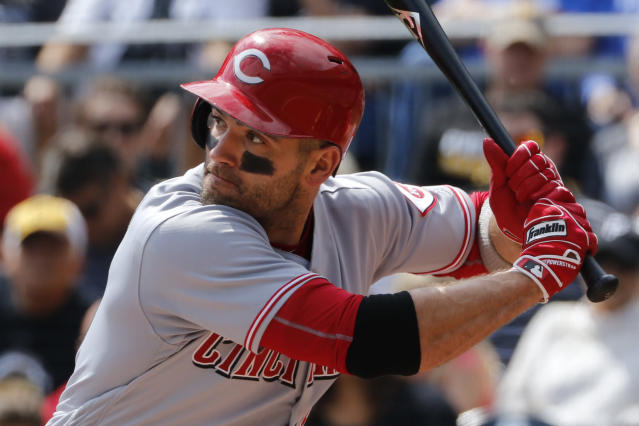Joey Votto already has a strong resume, but is somehow still underrated. (AP Photo)