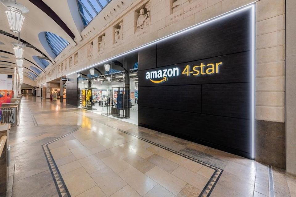 Amazon has opened a new shop at the Bluewater shopping centre (Amazon)
