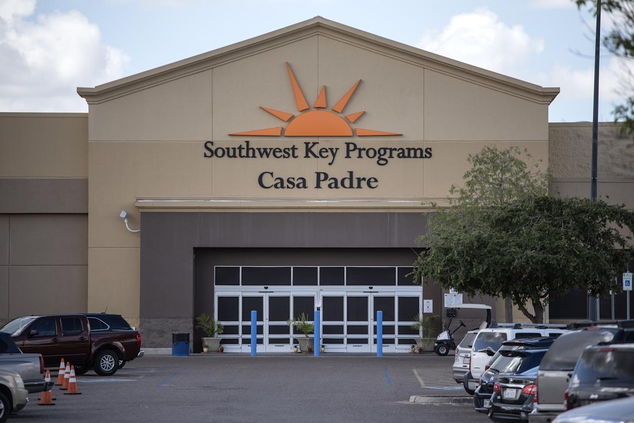 <p>The Southwest Key-Casa Padre Facility, formerly a Walmart Inc. store, stands in Brownsville, Texas, U.S., on June 17, 2018. Democrats escalated their attacks on U.S. President Donald Trump's policy of separating immigrant children from parents who illegally cross the Mexican border, as public outrage over the practice balloons into an election-year headache for Republicans. (Photo from Sergio Flores/Bloomberg) </p>