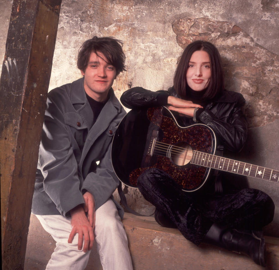 Johnny McElhone and Sharleen Spiteri founded Texas back in 1986 (Photo by Paul Natkin/Getty Images)
