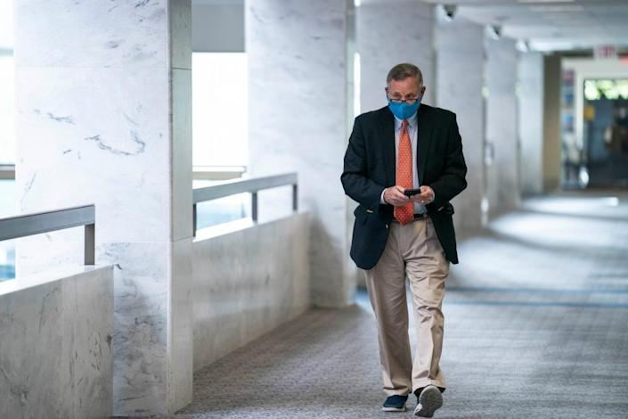 Senator Richard Burr voted to impeach Donald Trump over the Capitol insurrection but now appears to oppose an investigatory commmission.