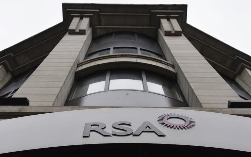 Britain's RSA underwriting profit rises, shares rally