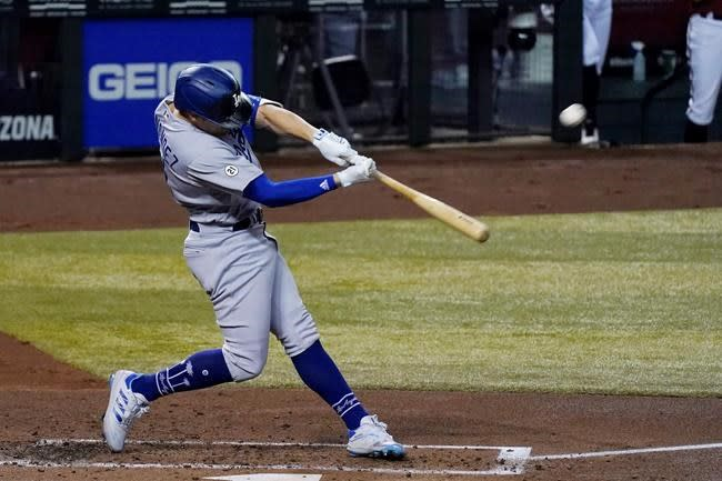 Dodgers score twice in 10th to beat Diamondbacks 6-4