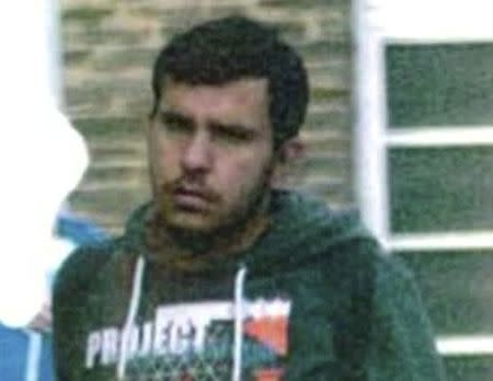 A undated handout picture released by the German police of a Syrian migrant Jaber Albakr.  Albakr suspected of planning a bomb attack on a Berlin airport, committed suicide at a detencion centre in Leipzig, October 13, 2016. German Police Handout via