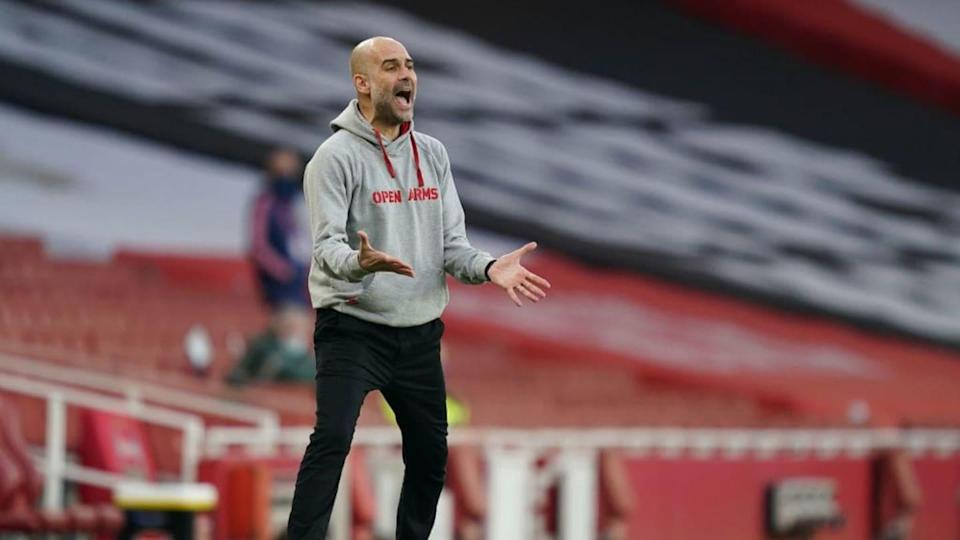 Pep Guardiola | Pool/Getty Images