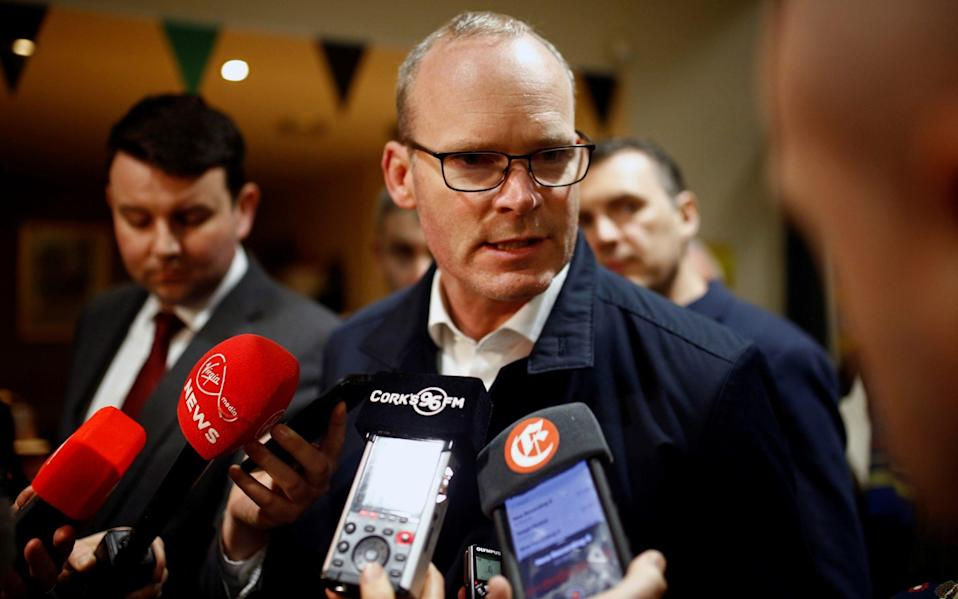"""Simon Coveney said talks were in a """"very serious zone of negotiation"""". - Reuters"""