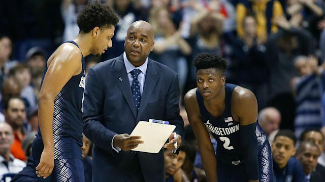 Thompson's teams went 278-151 over his 13 seasons at Georgetown.