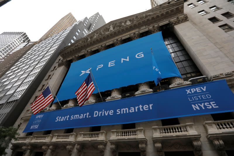 Chinese EV maker Xpeng increases US IPO size to $1.5 billion