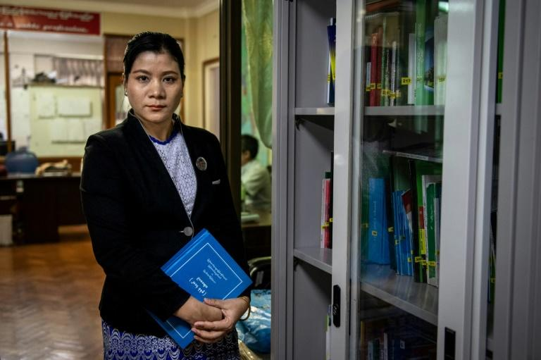 Many in Myanmar still view domestic abuse as a normal part of marriage that women must endure, says lawyer and activist Hla Hla Yee