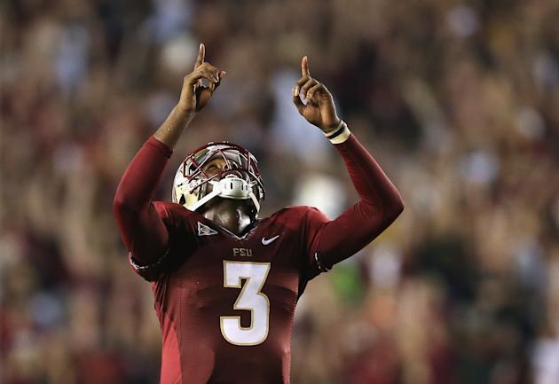 E.J. Manuel had a career night in leading FSU past Clemson. (Streeter Lecka/Getty Images)