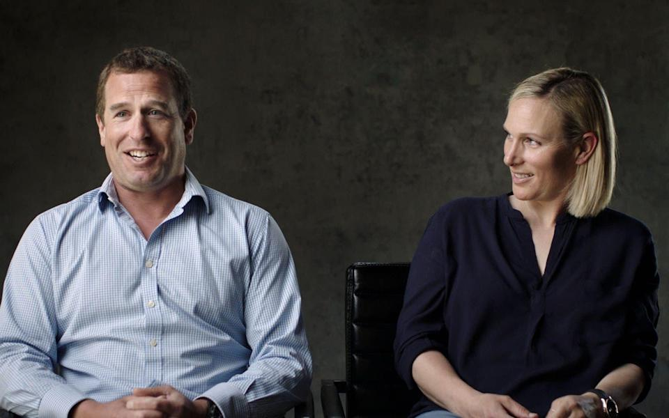 Peter Phillips and Zara Tindall reflect on their fondest and funniest moments with their grandfather, particularly his printer troubles - Oxford Films