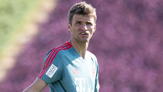 Bayern Munich are set to be without Thomas Muller for their Champions League last-16 tie against Liverpool after he got a two-game ban.