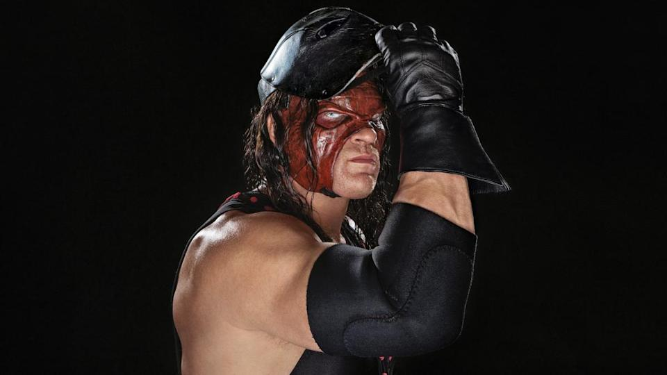 """Kane, described by WWE as a """"monstrous abomination,"""" holds a slim lead in the GOP primary for mayor of Knox County, Tenn. with all precincts reporting. (Courtesy/WWE)"""