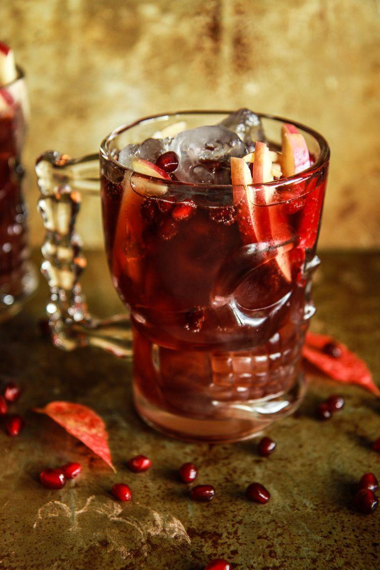"""<p>Spook-ify your classic Moscow mule with seasonal flavors of apple cider and pomegranate. The skull glasses are the ultimate festive touch!</p><p><strong><a href=""""https://www.thepioneerwoman.com/food-cooking/recipes/a90060/spiced-apple-cider-pomegranate-moscow-mules/"""" rel=""""nofollow noopener"""" target=""""_blank"""" data-ylk=""""slk:Get the recipe."""" class=""""link rapid-noclick-resp"""">Get the recipe.</a></strong></p><p><a class=""""link rapid-noclick-resp"""" href=""""https://www.amazon.com/Circleware-76980-Entertainment-Glassware-Decorations/dp/B01N28U5Y3/?tag=syn-yahoo-20&ascsubtag=%5Bartid%7C2164.g.36792938%5Bsrc%7Cyahoo-us"""" rel=""""nofollow noopener"""" target=""""_blank"""" data-ylk=""""slk:SHOP SKULL GLASSES"""">SHOP SKULL GLASSES</a></p>"""