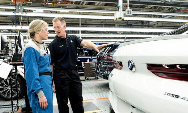 PHOTO: Russell Roman, a senior engineer at BMW, was one of the first employees to be hired at the plant. (BMW)