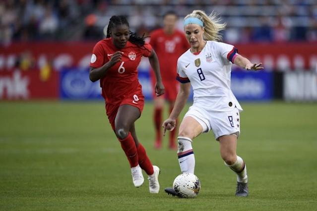Soccer: CONCACAF Women's Olympic Qualifying-Canada at USA