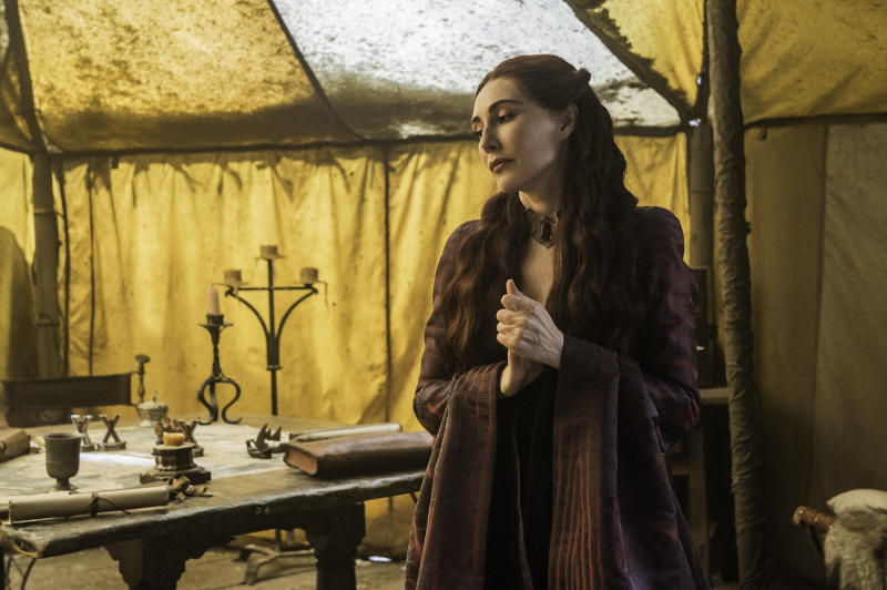Carice van Houten has reflected on the nudity scenes in Game of Thrones. (HBO