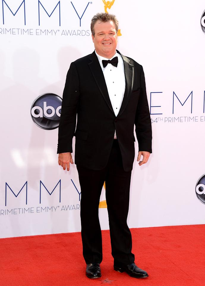 Eric Stonestreet arrives at the 64th Primetime Emmy Awards at the Nokia Theatre in Los Angeles on September 23, 2012.