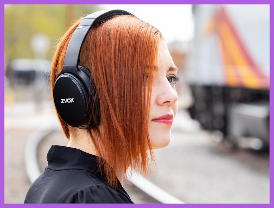 YES: Buy these headphones! NO: Don't wear them while you're crossing train tracks. (Photo: HSN)