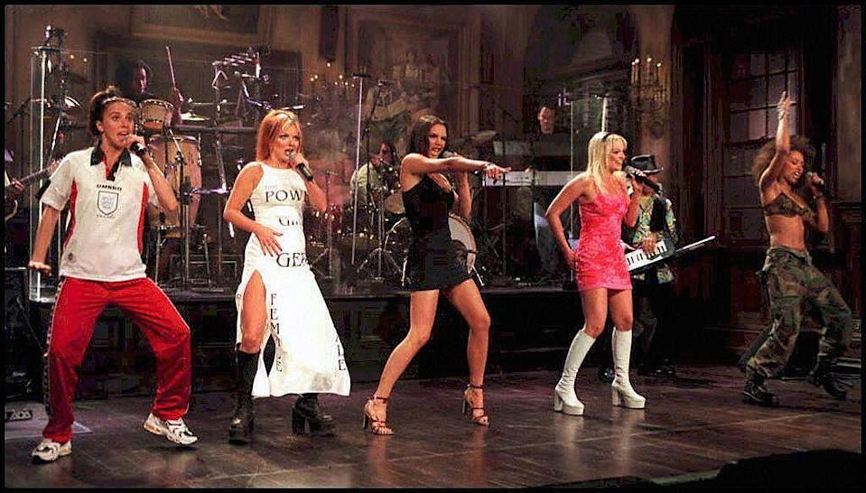 <p><strong>When? </strong>April, 1997</p><p><strong>Where? </strong>New York City</p><p><strong>What? </strong>A dress rehearsal for Saturday Night Live.</p>