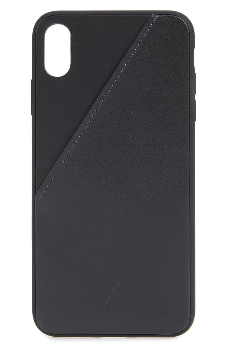<p>If they're tired of carrying a wallet, get them this <span>Native Union Click Card Leather iPhone 11 Pro Case</span> ($50).</p>
