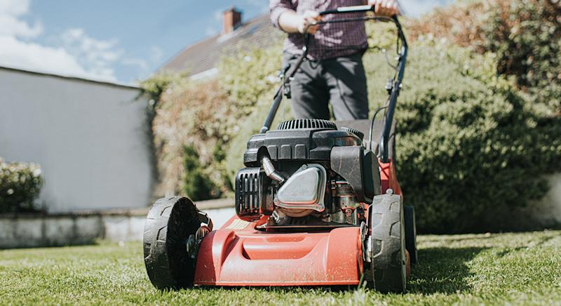 Argos' top-rated lawnmower has been hailed a 'superb little mower' by customers. (Getty Images)