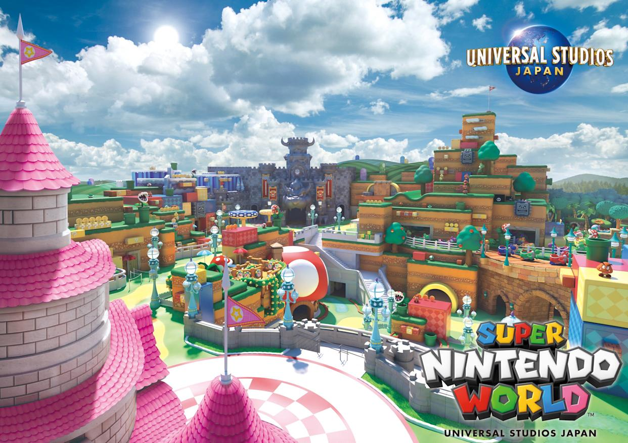 大阪「SUPER NINTENDO WORLD」USJ環球影城