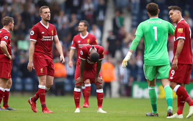 "If Roma players notice Edin Dzeko skipping to board his flight to Merseyside with broader shoulders on Monday, it's a fair assumption he has been reviewing the last 10 minutes of Liverpool's defensive performance at The Hawthorns. Jake Livermore and Salomon Rondon may have authored Roma's set-piece strategy as much as enacted Darren Moore's. The habit of snatching a frustrating draw from the claws of a comfortable victory has been a frequent flaw through Jurgen Klopp's reign, but so rare recently it appeared to be on the point of extinction since Virgil Van Dijk's arrival. The defensive lapses against West Bromwich Albion were surprising but Van Dijk dismissed the suggestion a renewal of anxiety attacks will be taken into the Champions League. This is a Liverpool team with nine clean sheets in the 16 games since their last calamitous meeting with West Brom in the FA Cup. Van Dijk acknowledged the climax was unacceptable, but felt it wiser to see it as a 'blip' rather than revival of a trend. He says any confidence in Rome due to Liverpool's reacquainting with defensive feebleness is misplaced. Why I'm expecting a Liverpool vs Bayern final ""I don't worry at all,"" said Van Dijk. ""There is no need to stress. There is no reason to panic. They are fighting for their lives so in the end they are very direct, balls into the channel, work hard, trying to get fouls and free-kicks - and we didn't deal with that how we should. ""Everyone gets upset. No one wants to concede at the last, or even concede at all. The way we conceded those goals is something to be angry about. We need to be honest with ourselves and everyone was. We need to do better. You have to tell each other the truth you cannot be nice and happy when we want to achieve so much as a team as a club. A draw here is not good enough. ""We need to keep doing what we did in the last games, recover and focus on Roma now. We need to switch on again and do the same things that we always did. I think we should be fine. It is a massive opportunity to get a good result on Tuesday."" Virgil van Dijk preached calm after Liverpool's late lapses at the Hawthorns Credit: Action Images Such were the mitigating factors, namely a back four that had never previously started together, there was annoyance rather than concern as Danny Ings and Mohamed Salah's goals failed to yield the three points which would have prevented the unwanted extension of Liverpool's chase for top four confirmation. Klopp was in a sour mood because of substandard refereeing. Stuart Attwell was evidently not so charmed as everyone else by Ings' ending a three year goal wait, refusing a penalty claim and tolerating a punch in the striker's chest by Ahmed Hegazi. The Liverpool manager lamented what he called 'wasted points', but Liverpool were plodding rather than dynamic and Klopp's biggest concern is leaving the door ajar for Chelsea, who host the Merseysiders at Stamford Bridge for the rivals' penultimate game. Prolonged European involvement has cost Liverpool four points from recent games at Everton and West Brom. Ensuring standards are not compromised when competing in multiple competitions is the next stage of Liverpool's evolution. West Brom must ask themselves why this point did not mean more? How can a side win at Old Trafford and go unbeaten in three games against this Liverpool team, yet finish bottom of the Premier League? It's rather like completing four London marathons but tripping up every time you try to finish 400 metres. Jurgen Klopp has concerns that Chelsea might steal back into the top four Credit: Press Association ""Everyone around me at the club is giving everything,"" insisted Moore. ""In order to get what we did it is a collective effort and that's why I keep using the words 'togetherness' and 'we' because that's what we need until the end of the season."" Privately, even Moore must recognise a contradiction. The effort on display here and at Manchester United is commendable, but the notion everyone is pulling together for a final survival push suggests such application was unforgivably lacking when Tony Pulis and Alan Pardew were around. It is too late for the Baggies to help themselves, but if Roma score from a few corners over the next two weeks there may yet be an unlikely message of appreciation from their coach, Eusebio Di Francesco."