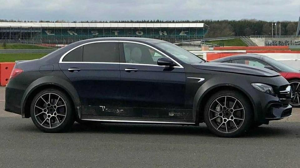 Mercedes-AMG C63 On Stilts Might Be An Aston Martin DBX Mule
