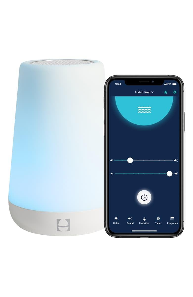 <p>This <span>Hatch Baby Rest Sound Night Light &amp; Time to Rise Machine</span> ($60) is a great way to help you and your little ones stick to a solid sleep schedule.</p>