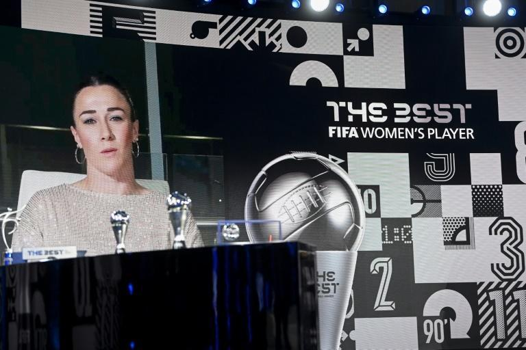 Lucy Bronze was named 'The Best' women's player of the year on Thursday