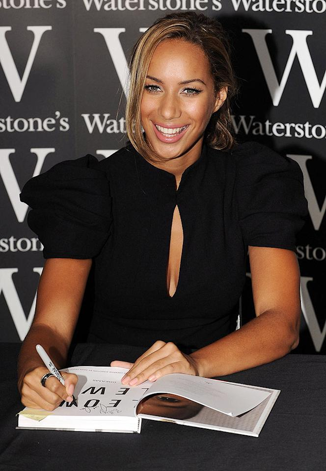 """And finally, in one of the week's most disturbing developments, """"X Factor"""" winner Leona Lewis was punched in the head while signing copies of her autobiography in London on Wednesday. Police arrested the man and said he would be given a psychiatric assessment. Ian Gavan/<a href=""""http://www.wireimage.com"""" target=""""new"""">WireImage.com</a> - October 14, 2009"""