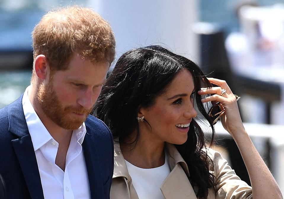 Lawyers for the duke and duchess said the Sussexes believed staff were comfortable and happyPOOL/AFP via Getty Images