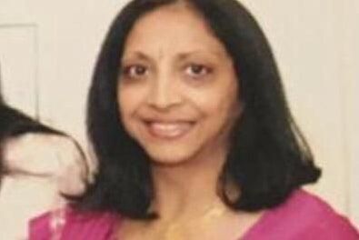 <p>Hansa Patel, 62, was found suffering from head injuries at the terraced home </p> (Handout)