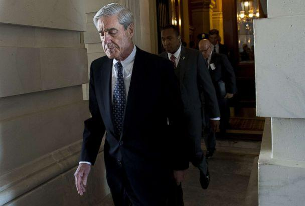 PHOTO: Former FBI Director Robert Mueller, special counsel on the Russian investigation, leaves following a meeting with members of the U.S. Senate Judiciary Committee at the U.S. Capitol in Washington. (Saul Loeb/AFP/Getty Images, FILE)