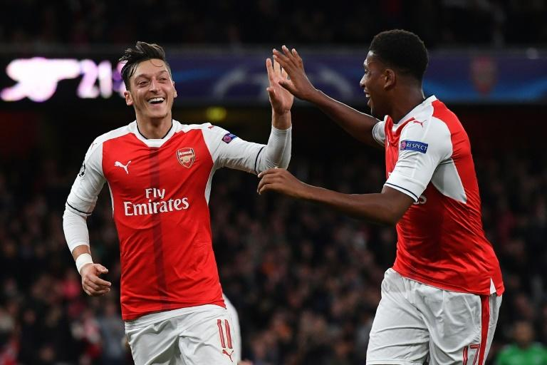 Arsenal are level on points with Manchester City at the top of the Premier League table