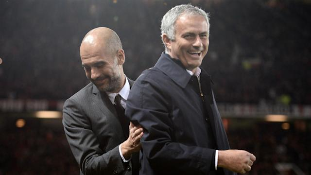 The first showdown between Pep Guardiola and Jose Mourinho this season takes place in the United States as both men gear up for the new campaign
